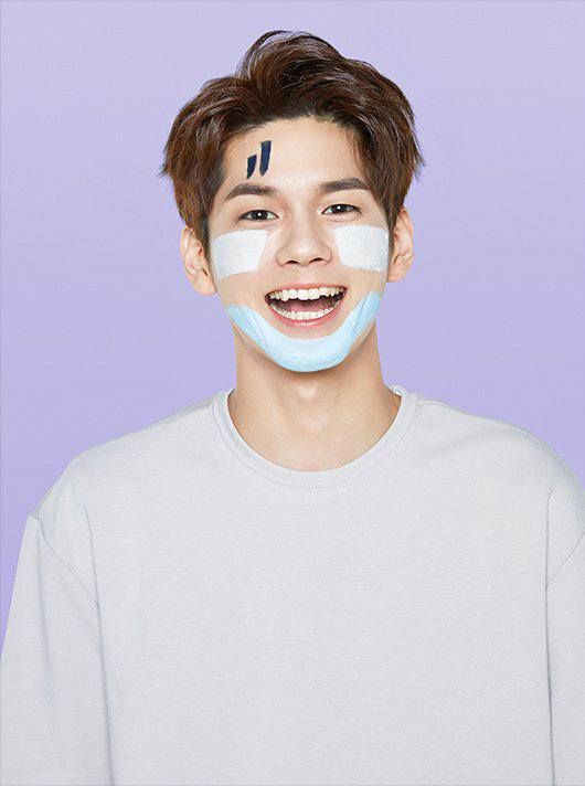 Ong sungwoo for innisfree mask