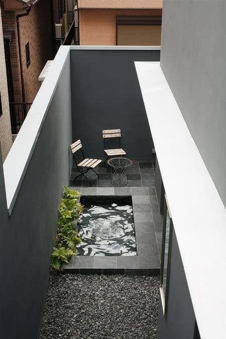 small space -maybe good for a daylight basement or small city deck