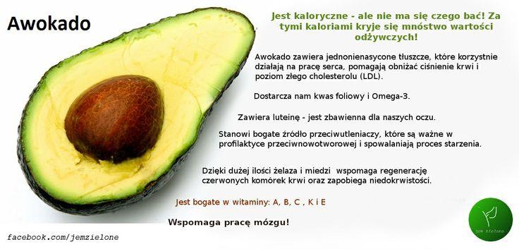 Awokado jem zielone