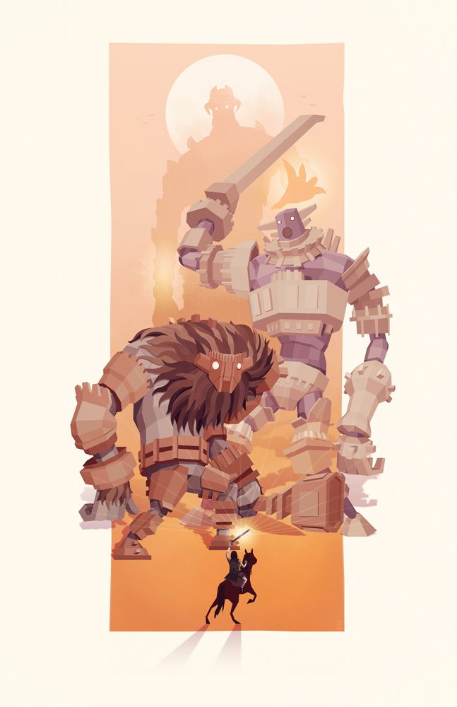 Shadow of the Colossus Thy Next Foe Is... — STEVE COURTNEY