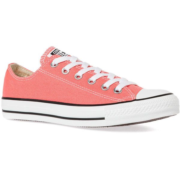 Converse The Chuck Taylor All Star Sneaker in Carnival Pink found on Polyvore