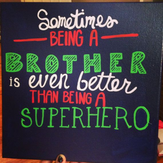 Superhero room decor by craftsbydaniellelee on Etsy, $20.00