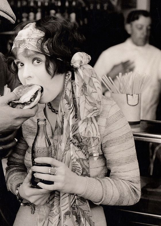 "Clara Bow in ""Rough House Rosie""...1927..."
