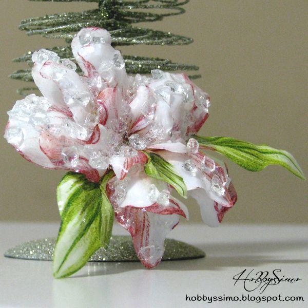 HobbysSimo: Spilla a fiore con tecnica del sospeso trasparente...