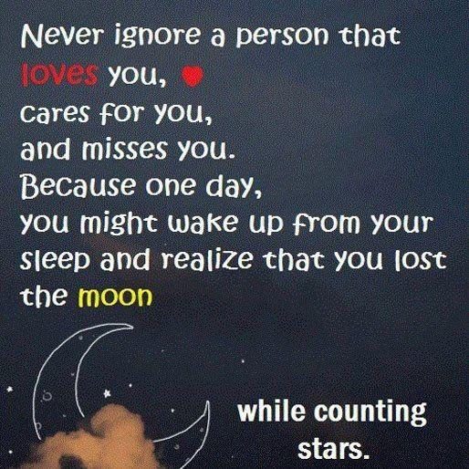 Never Ignore Someone Quotes. QuotesGram