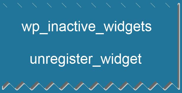 how to create more widgets in wp