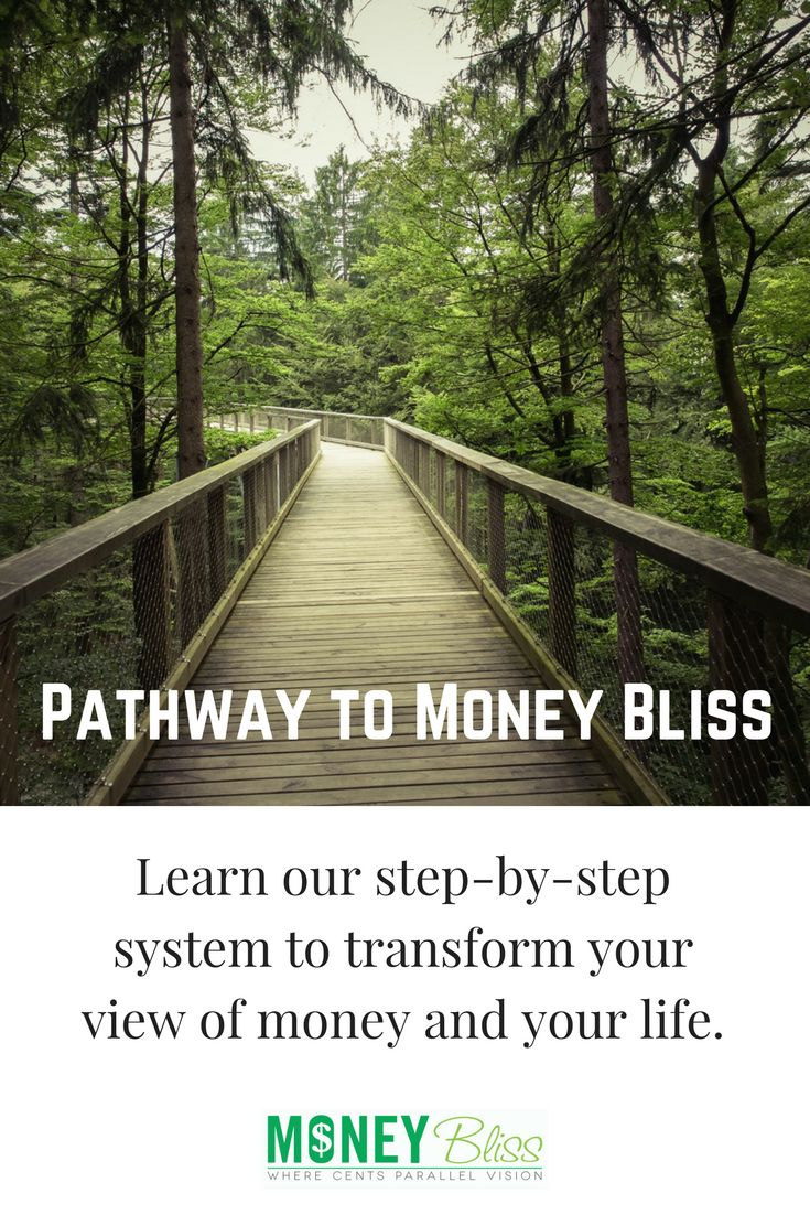How we handle, spend, plan, and save money cannot change overnight.  This program is designed to guide you through making a Cents Plan (budget), get out of debt, save money, give, and much, much more. All from a money coach.  Get money help. Pathway to Money Bliss will transform your view of money and your life!