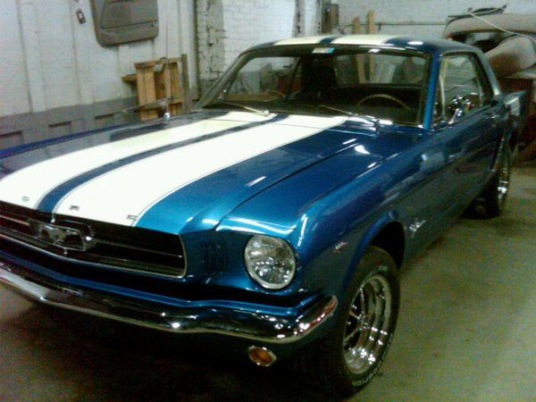 65 Mustang- I'm gonna fix one up someday