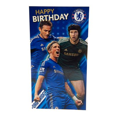 17 Best images about Soccer Birthday Cards – Chelsea Birthday Card