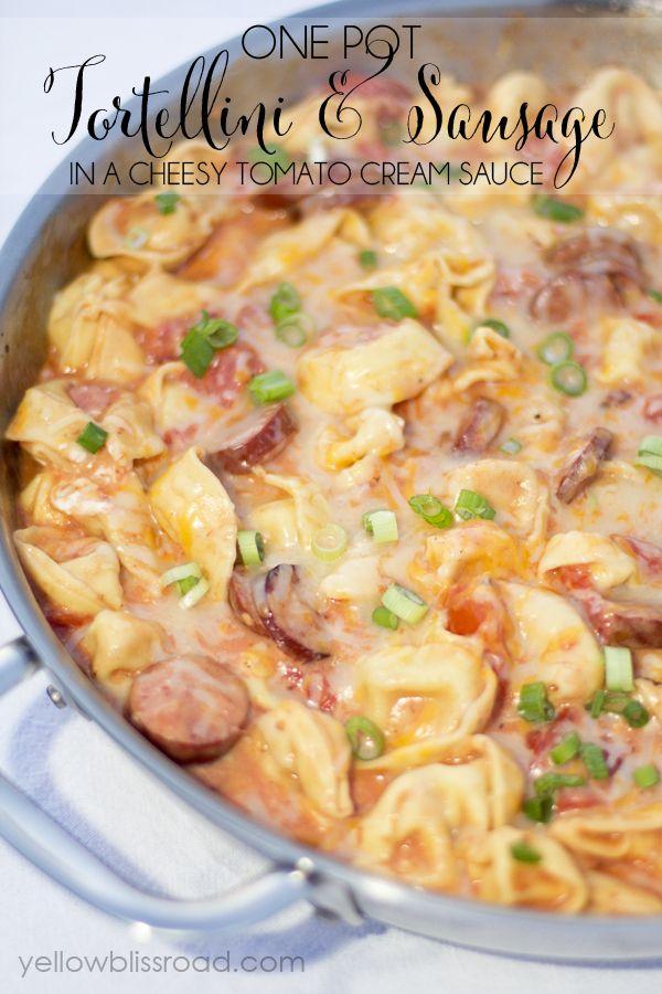 One Pot Meals: Tortellini & Sausage