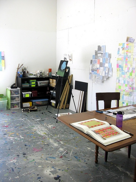 Laura Wennstroms Art Studio Workspace Artist By Laurawennstrom Via Flickr