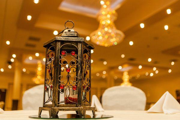 Antique wedding lamp at Indian wedding http://www.maharaniweddings.com/gallery/photo/90684