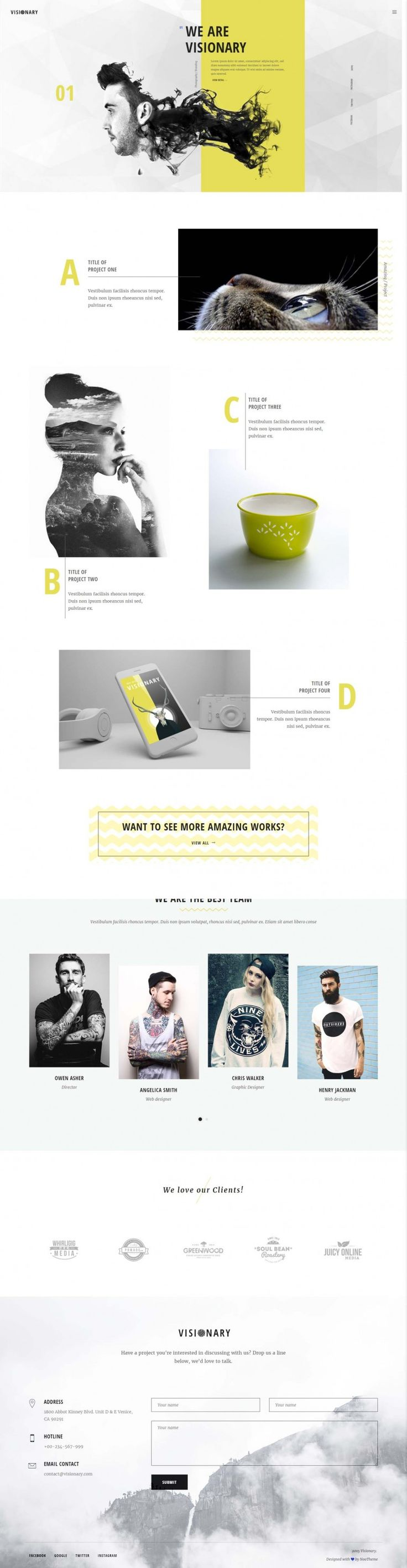 Visionary – Creative Agency on