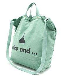 niko and...Women's(ニコアンドウィメンズ)のニコロゴ2WAY コーデュロイ【niko and...】(ショルダーバッグ)|詳細画像