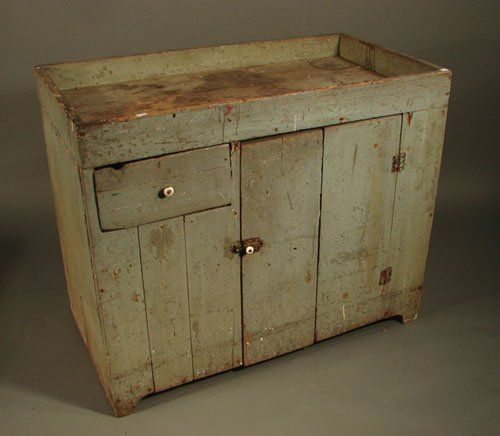 2059: Antique dry sink with layers of old finish. One b on - 38 Best Antique Dry Sinks Images On Pinterest Antique Furniture