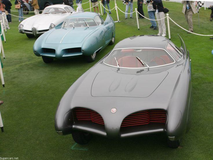 1954 alfa romeo bat 5 concept car.