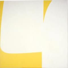 ELLSWORTH KELLY Aubade 1957, oil on canvas, H: 80 1/16 x W: 80 in. (203.36 x 203.2 cm)