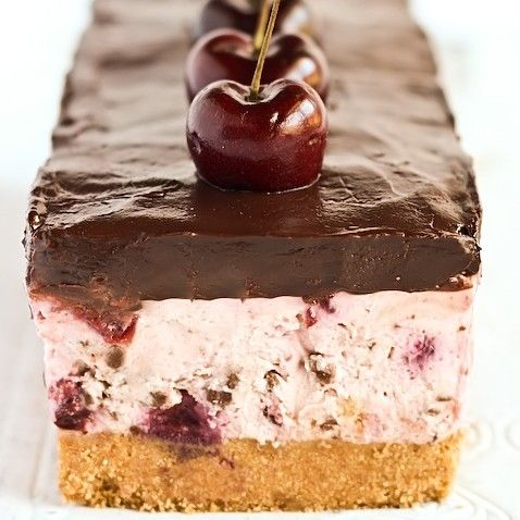 Chocolate Chip Cherry Cheesecake   Food WoW   See more about cherry cheesecakes, chocolate chips and cheesecakes.