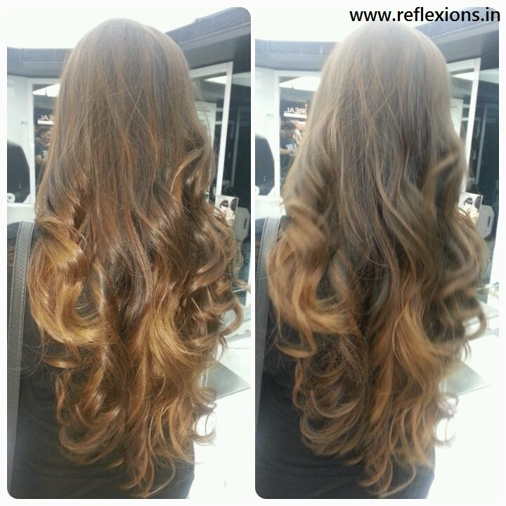 New look - curl hairstyle #curls #curlHairstyle #curlhairstyles #makeup #reflexions - www.reflexions.in