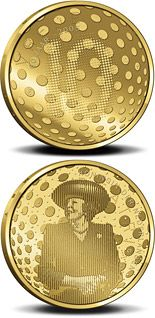 10 euro 60 years Peace and Freedom - 2005 - Series: Gold 10 euro coins - Netherlands