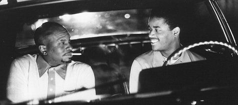 Still of Larenz Tate and Keith David in Dead Presidents (1995)