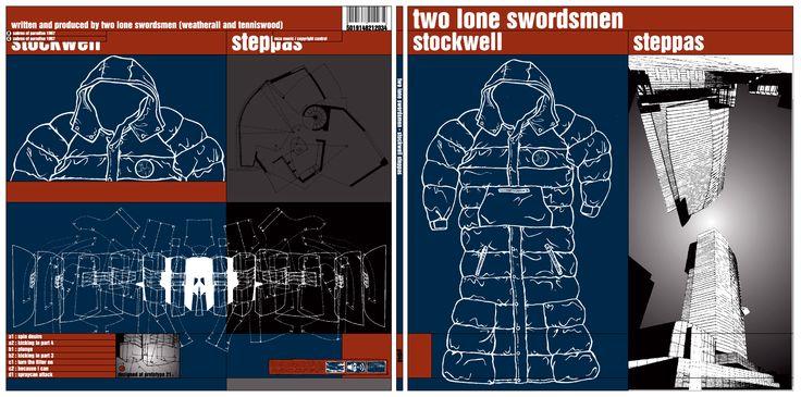 Two Lone Swordsmen - Stockwell Steppas  Design by Paul Nicholson / www.number3.co
