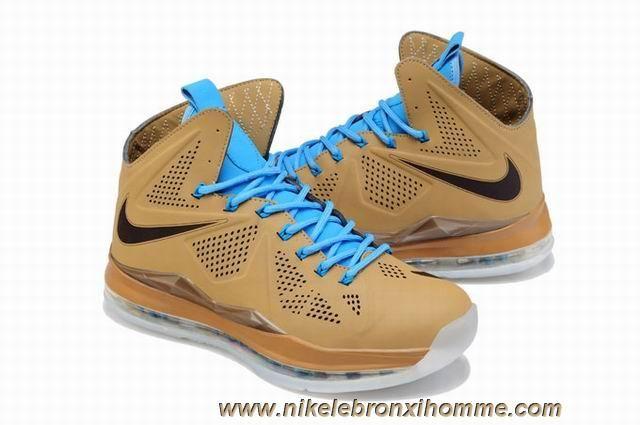 607078-200 Nike LeBron X QS EXT Hazelnut