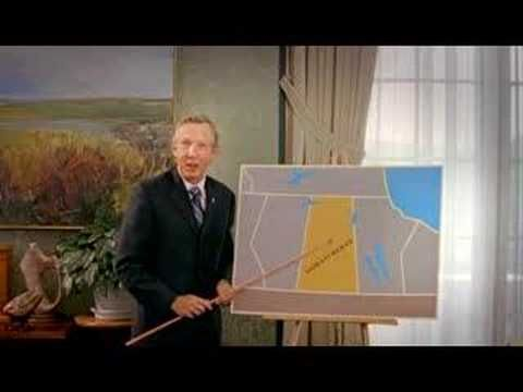 Corner Gas | Lorne Calvert vs. Sweden | Lorne Calvert, the then Premier of Saskatchewan, appears on Corner Gas