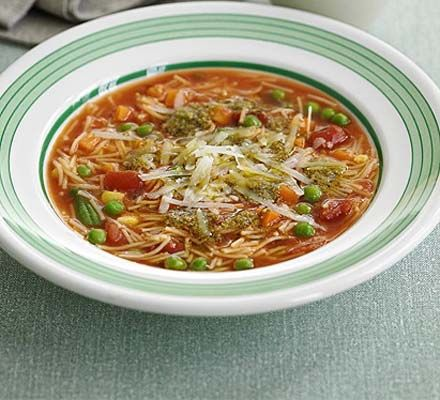 Whip up a main-meal soup in next to no time, perfect for a quick lunch and ready in just 10 minutes