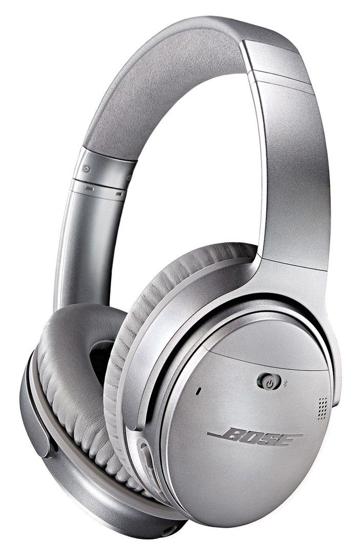 BOSE® QuietComfort® 35 Acoustic Noise Cancelling® Wireless Headphones — $349.95. Advanced noise reduction technologies provide exceptional elimination of intrusive outside noise and aural distractions across the frequency range in these premium around-ear wireless headphones. Comfort-minded cushioning provides long-wearing ease and a proprietary TriPort® acoustic structure helps project lifelike sound and reveals subtle musical nuances. Integrated microphone and voice controls.