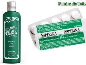 Leite de Côlonia+ Aspirina = Seca espinhas Tira manchas e acaba com Cravos! - Dicas e Truques Online