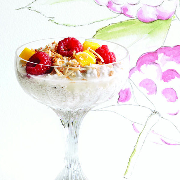 Try this tasty and healthy Chia and coconut pudding for dessert or for a snack, another great super-food recipe from Chatelaine.com