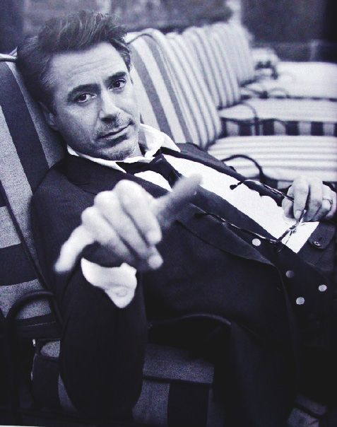 Robert Downey Jr - he's one of those people that just get more attractive with age.