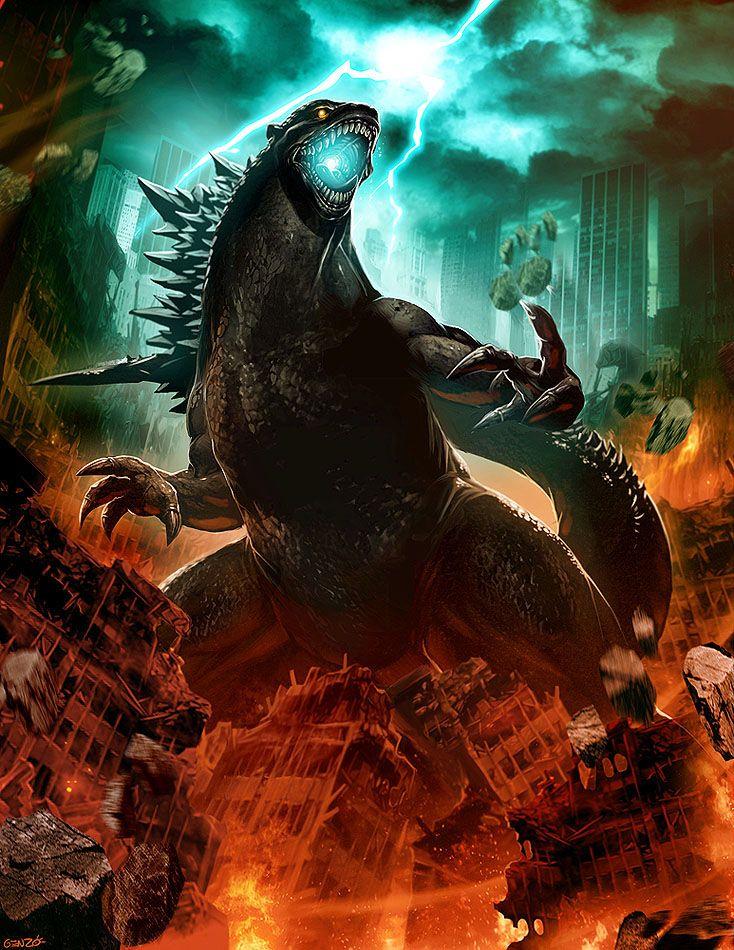 Godzilla Bad Ass Anime Pinterest Awesome, Artworks