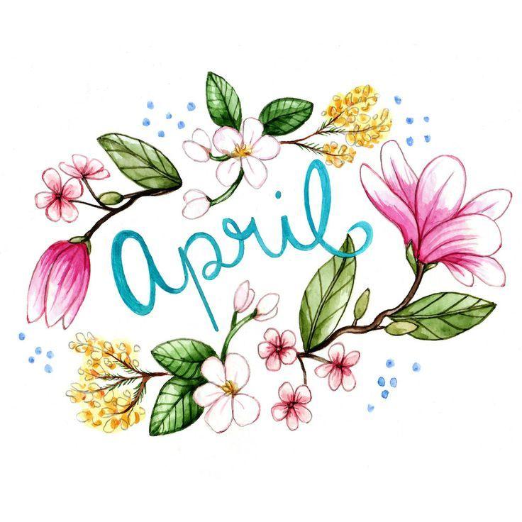 April Illustration By Brooke Weeber
