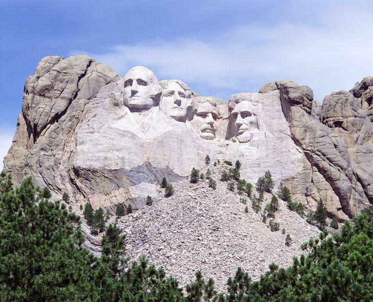 Mont Rushmore, rocher des présidents américains, Dakota du Sud