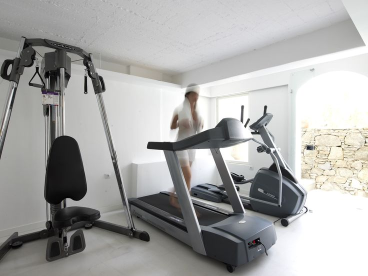 For the more athletic of you, don't worry about keeping in shape while on holiday. Semeli Mykonos offers state of the art gym facilities for you to stick to your fitness plan! http://www.semelihotel.gr/hotel-services-facilities-mykonos/  Semeli #SemeliHotel #Mykonos #LuxuryHotel #SemeliMykonos