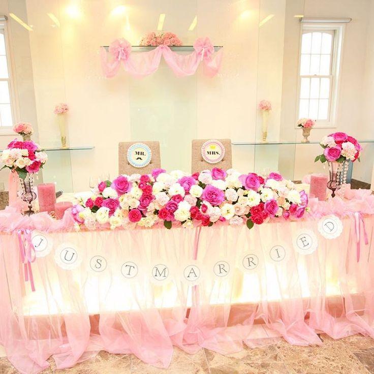 結婚式披露宴・二次会の可愛い高砂デザイン特集 | marry[マリー]