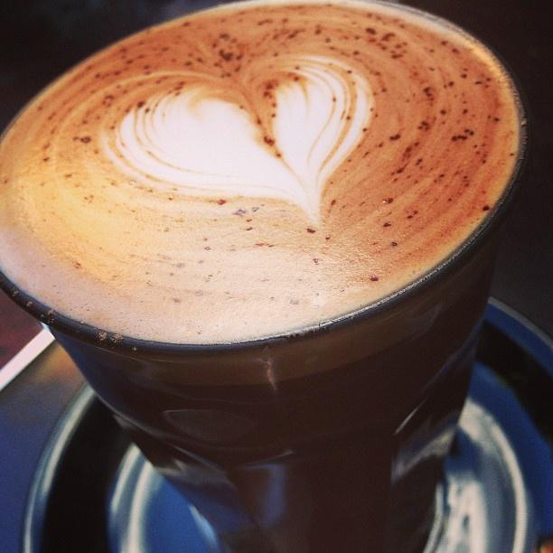 Hot chocolate on a cool autumn arvo #yum