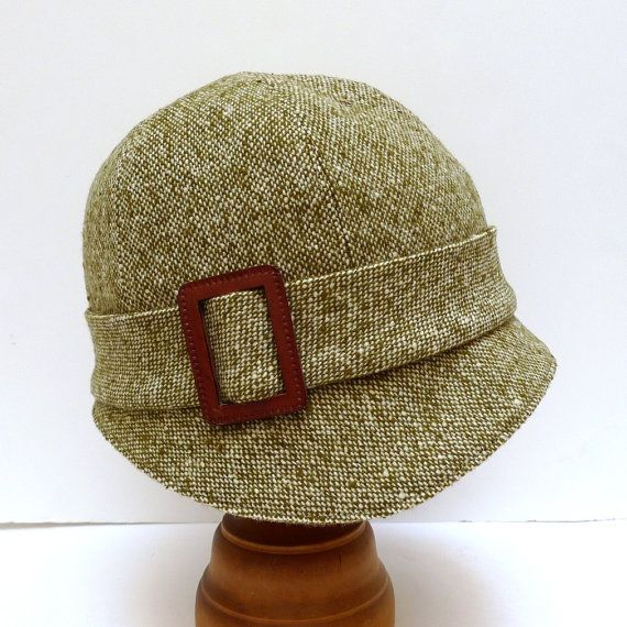 1920's Tweed hat...I think I could pull this off!