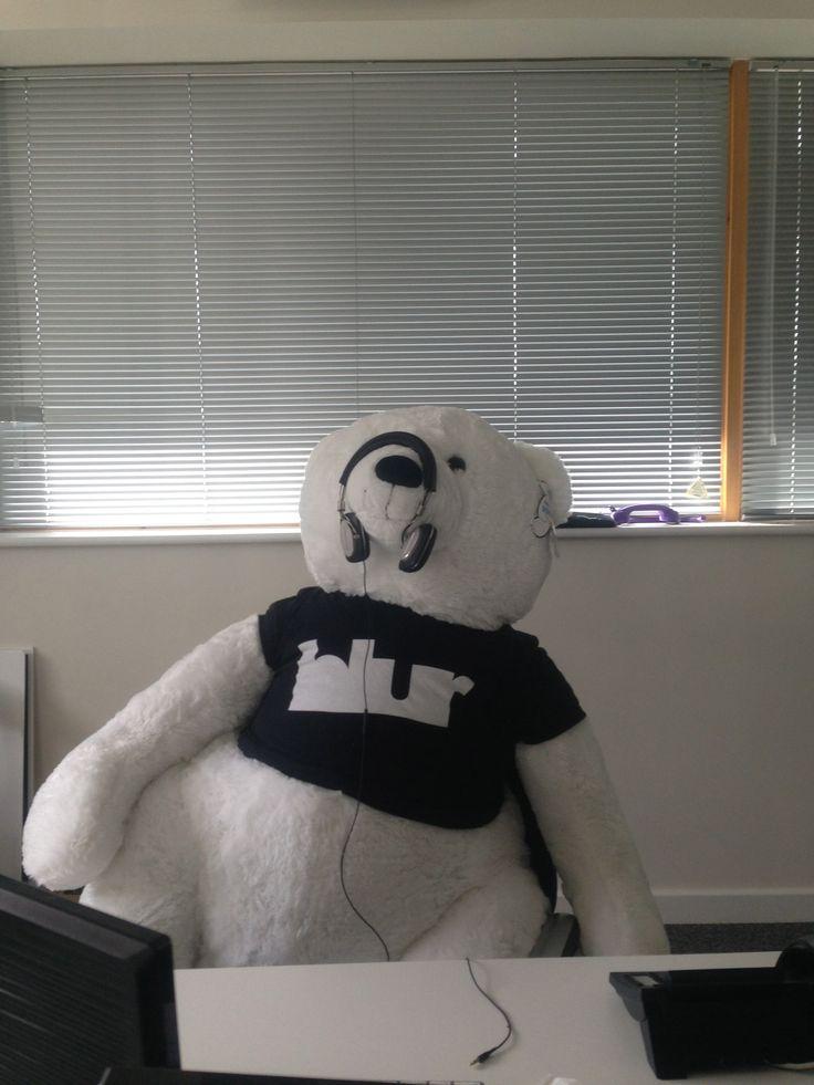 blur Bear messing around...