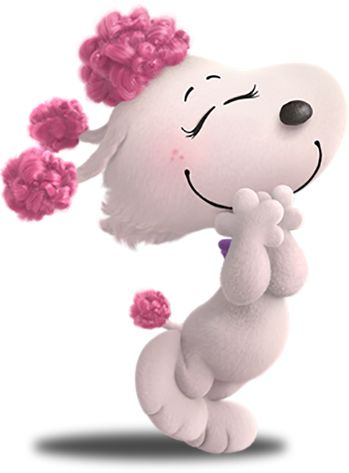 Fifi is a stylish, graceful, athletic and spunky French poodle that becomes the object of Snoopy's affections during his wildly imaginative adventures.
