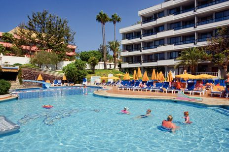 Bitacora Hotel, Playa De Las Americas, Tenerife, Spain loved many holidays here a home from home