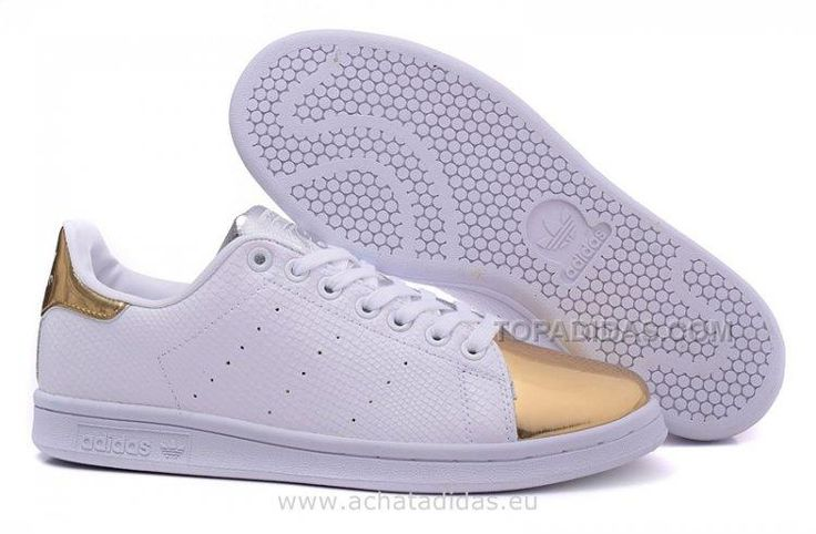 www.topadidas.com... Only$58.00 LATEST ADIDAS HOMME CASUAL CHAUSSURES 2016 SUPERSTAR SMITH LEATHER BLANC OR (BASKET STAN SMITH PAS CHER) Free Shipping!