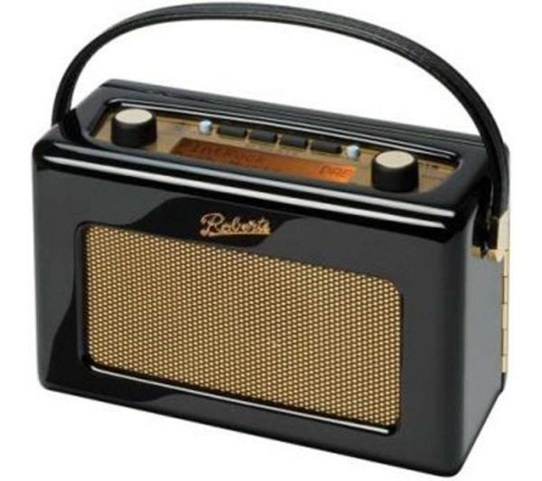 Buy ROBERTS RD60 Revival DAB Digital Radio - Gloss Black | Free Delivery | Currys