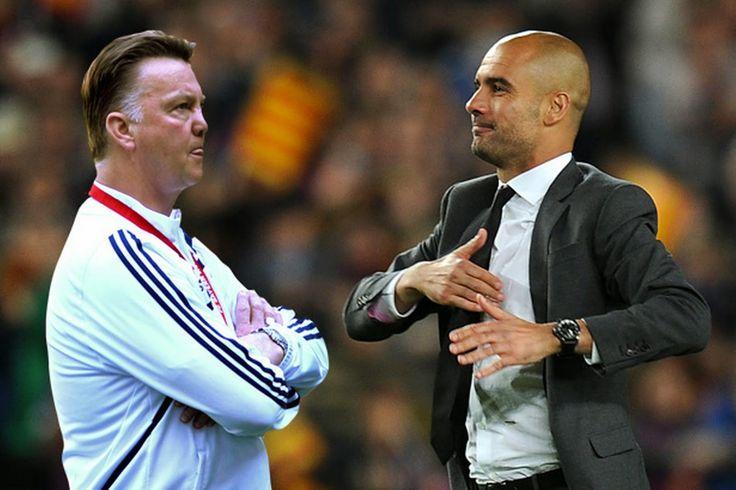 Josep Pep Guardiola : Van Gaal replies on Guardiola : All players wish t...