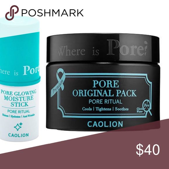 👯Caolion Blackhead Mask and Glow Stick 👯 NWT. Brand new. Never opened or used. Free gift with every purchase!  Bundle and save 30 percent!!!!!  Offers always welcome. No trades. Happy shopping 🛒 poshers!!! caolion Makeup