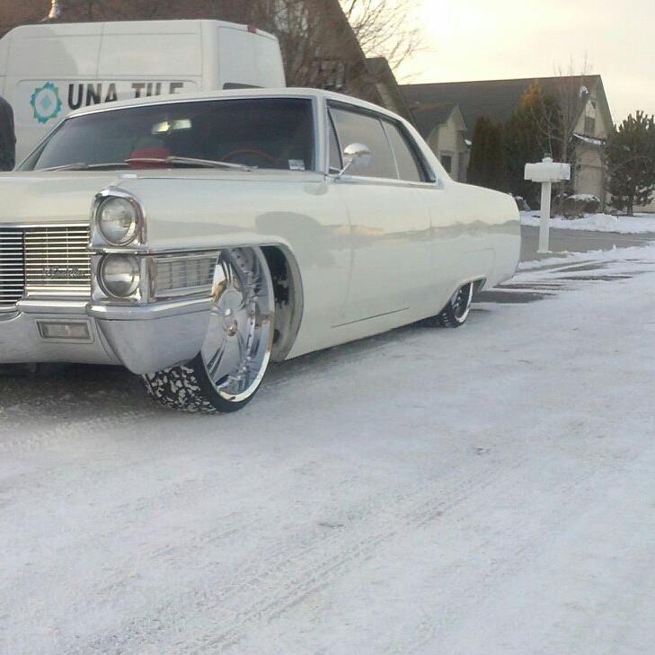 Wilson Cadillac: Cadillac In The Snow