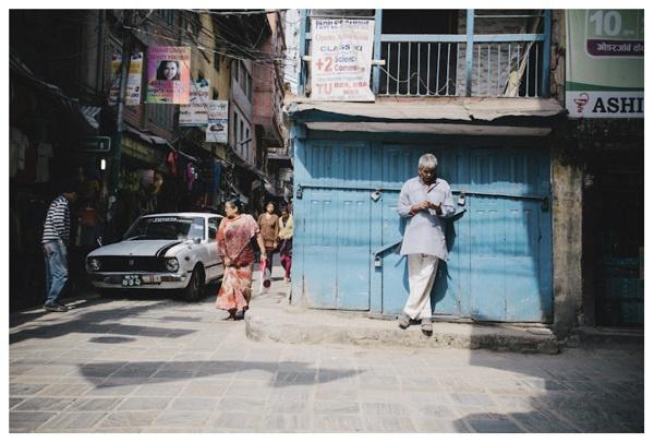 .Kathmandu by Philip Schulte, via Behance