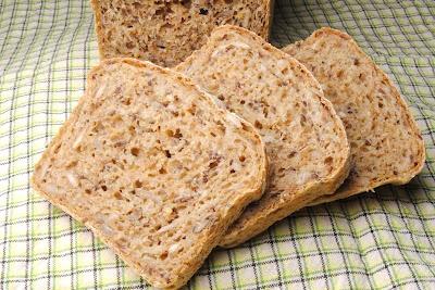 ChocoLanas matblogg: Grovt brød med gulrot